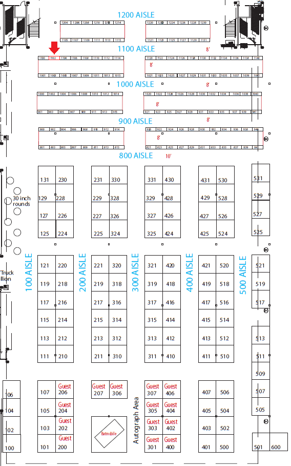 Convention Map