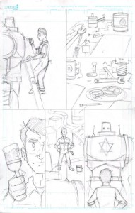 Process - initial pencils