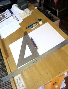 Al's drawing table
