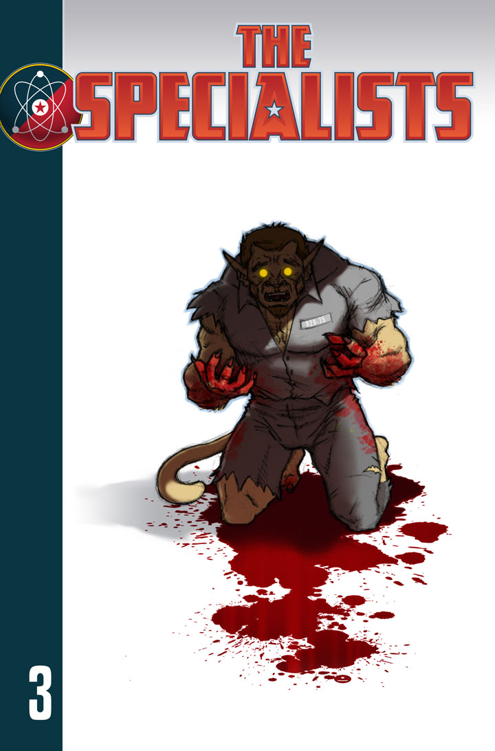 The Specialists webcomic, Chapter 3 Cover