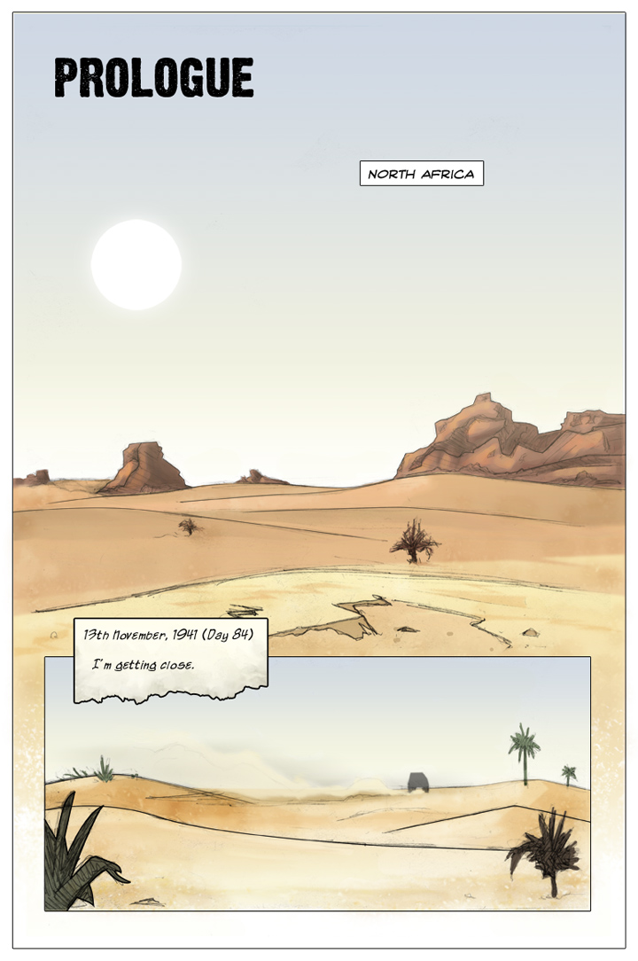 The Specialists webcomic, page 1