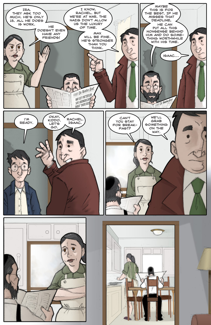 The Specialists webcomic, page 11