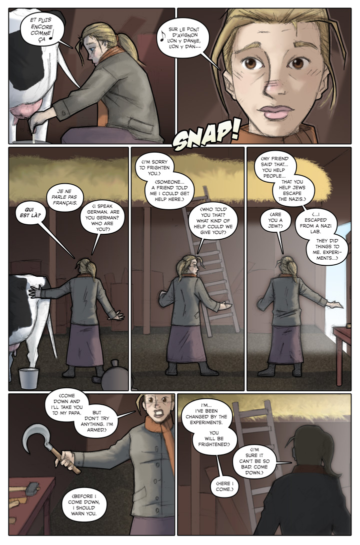 The Specialists webcomic, page 25