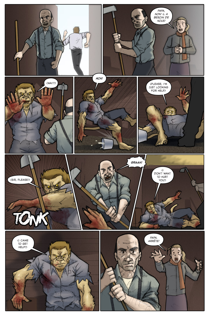 The Specialists webcomic, page 28