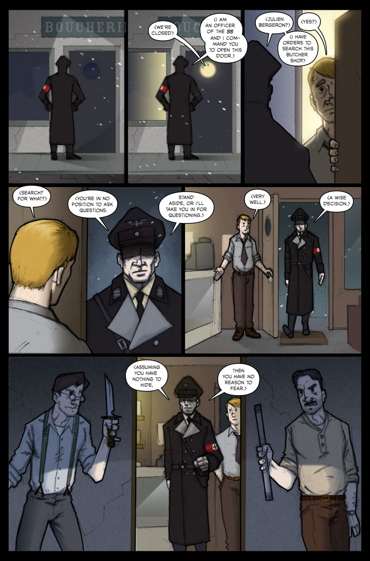 The Specialists webcomic, page 37