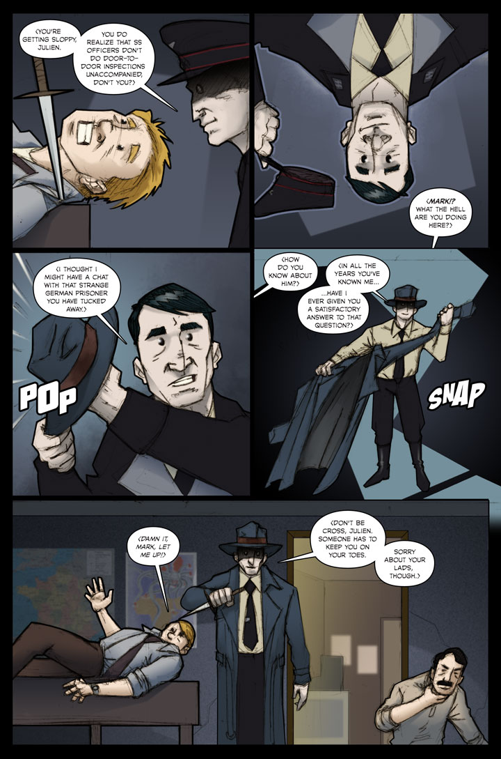 The Specialists webcomic, page 39