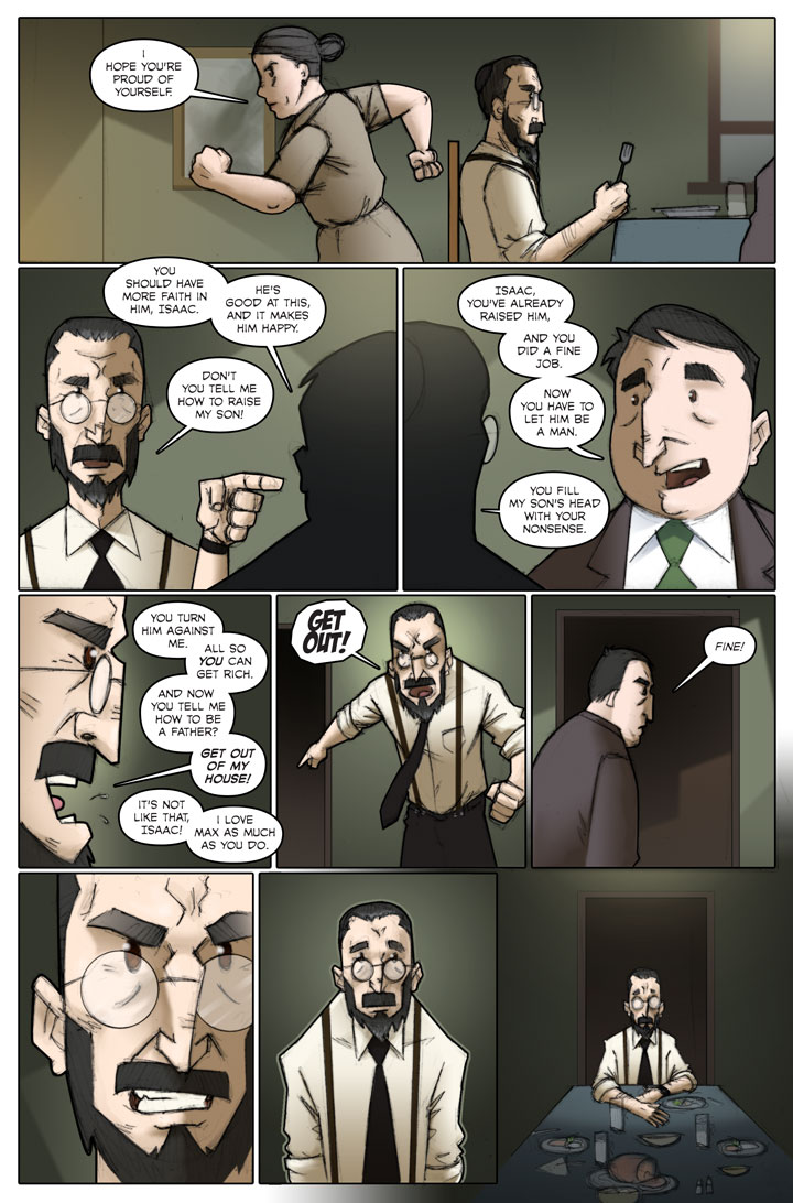 The Specialists webcomic, page 47