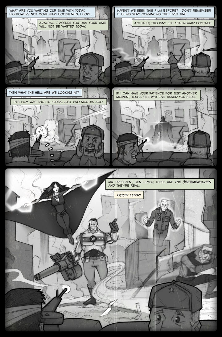 The Specialists webcomic, page 49