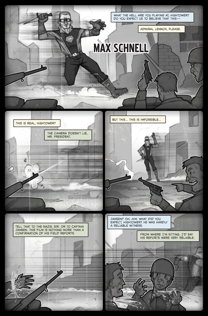 The Specialists webcomic, page 50