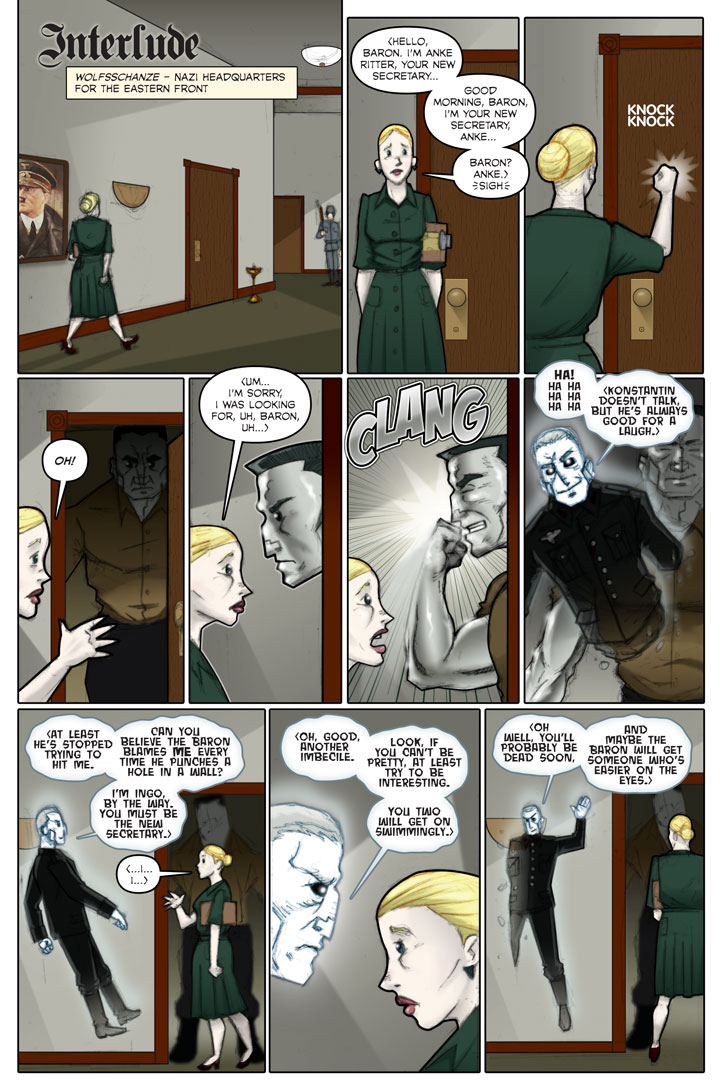 The Specialists webcomic, page 55