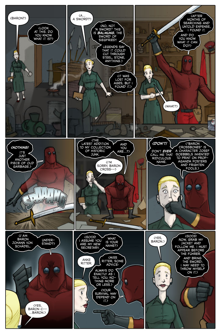 The Specialists webcomic, page 57