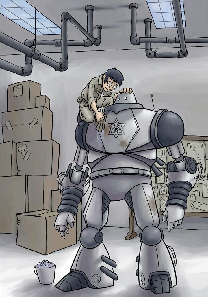 The Specialists webcomic, guest art by Arlene Zeller