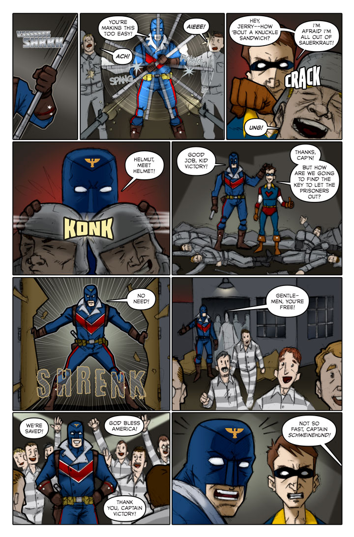 The Specialists webcomic, page 61