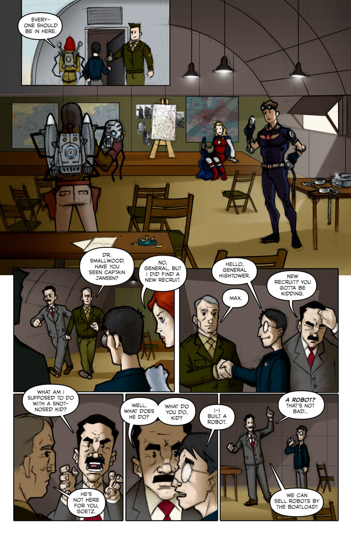 The Specialists webcomic, page 77