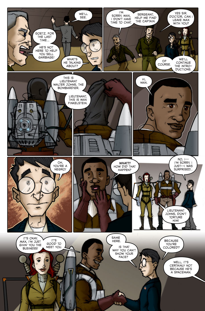 The Specialists webcomic, page 78
