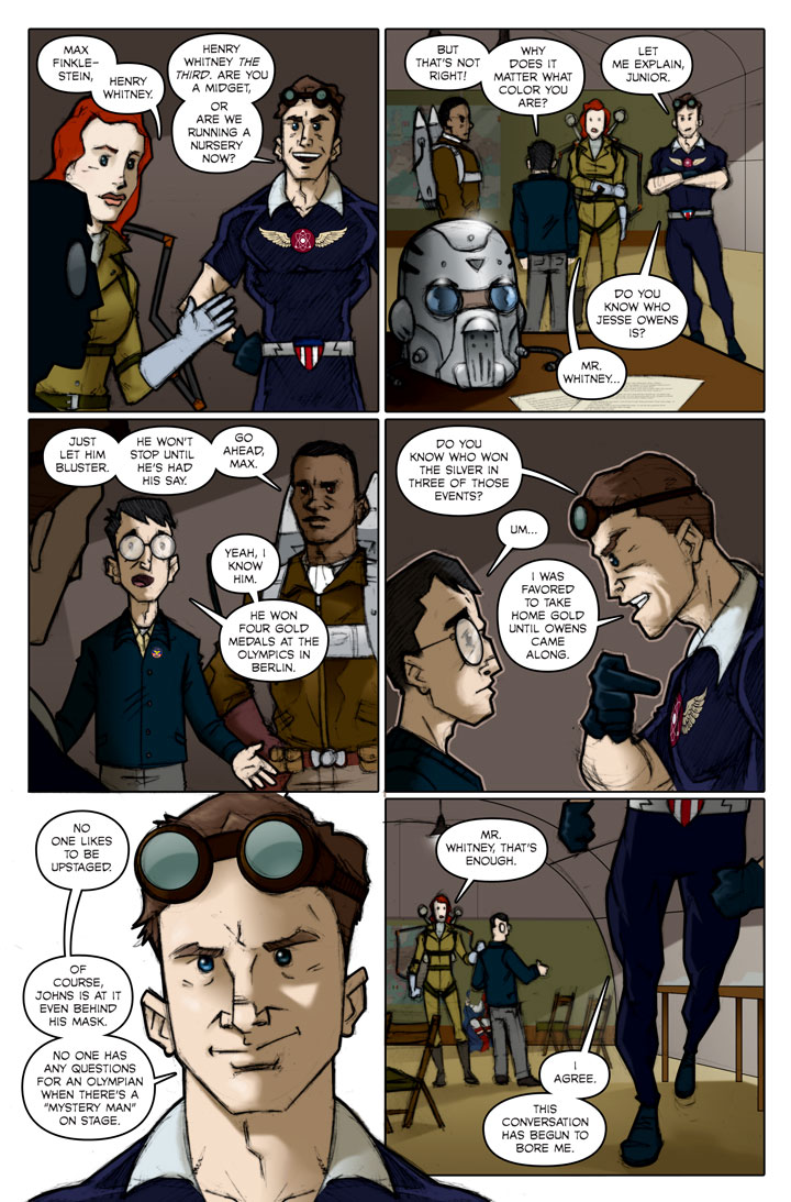 The Specialists webcomic, page 79