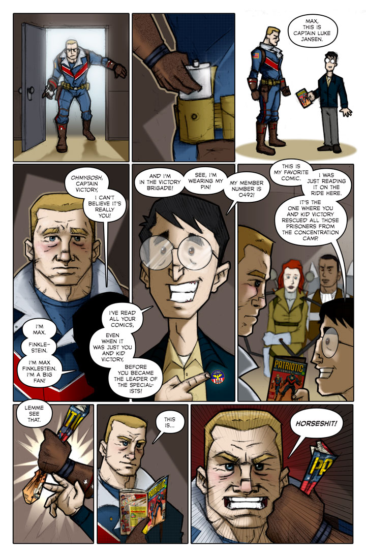 The Specialists webcomic, page 81