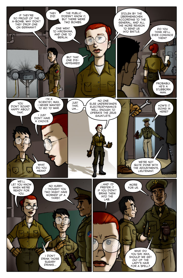 The Specialists webcomic, page 91