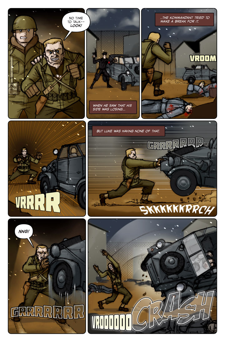 The Specialists webcomic, page 101