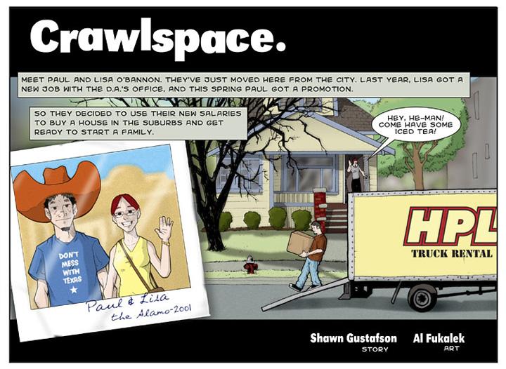 Crawlspace, page 1