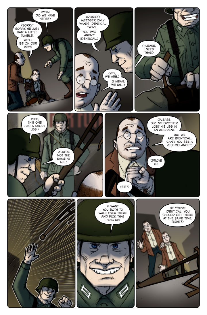 The Specialists webcomic, page 113
