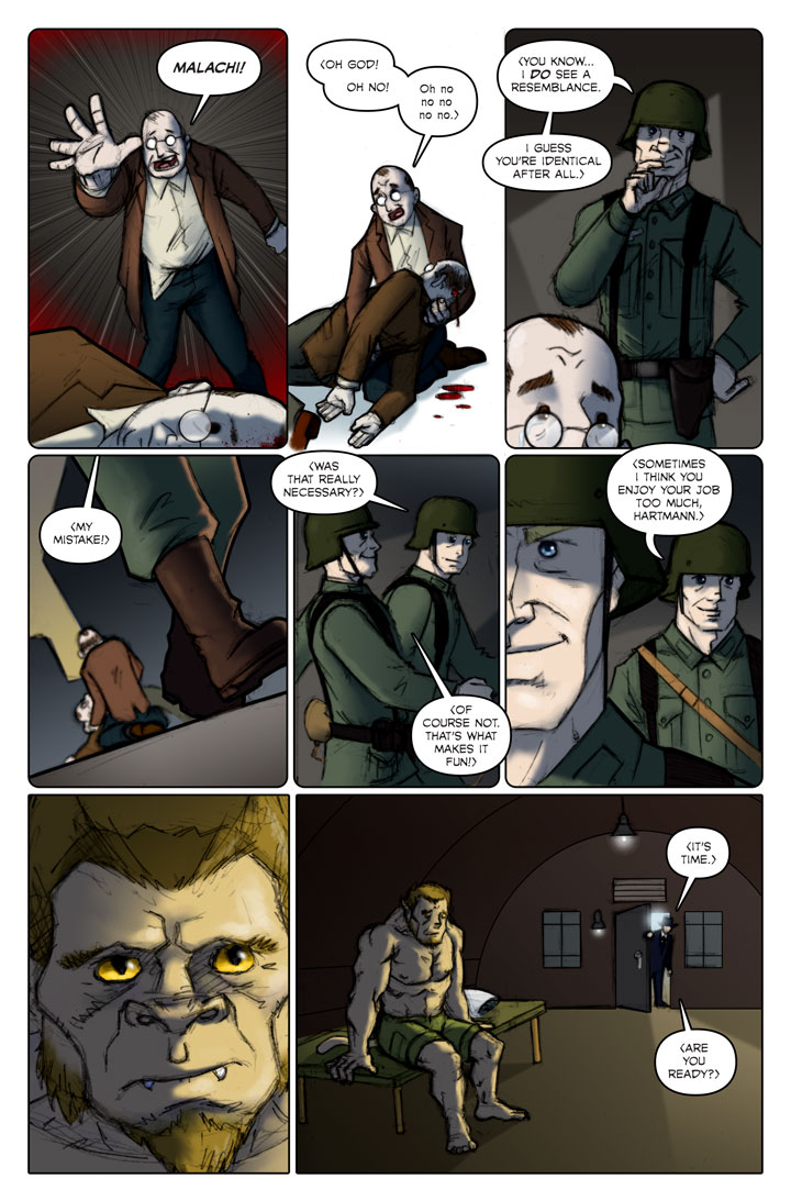 The Specialists webcomic, page 115