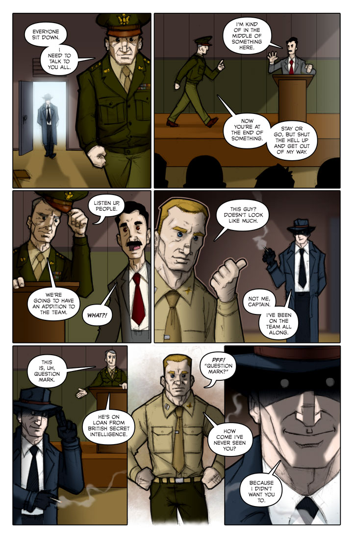 The Specialists webcomic, page 118