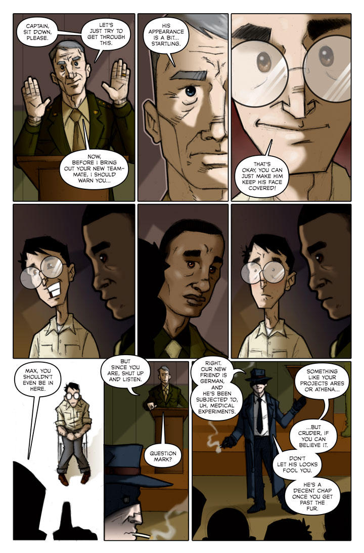 The Specialists webcomic, page 119