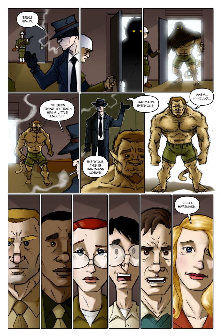 The Specialists webcomic, page 120