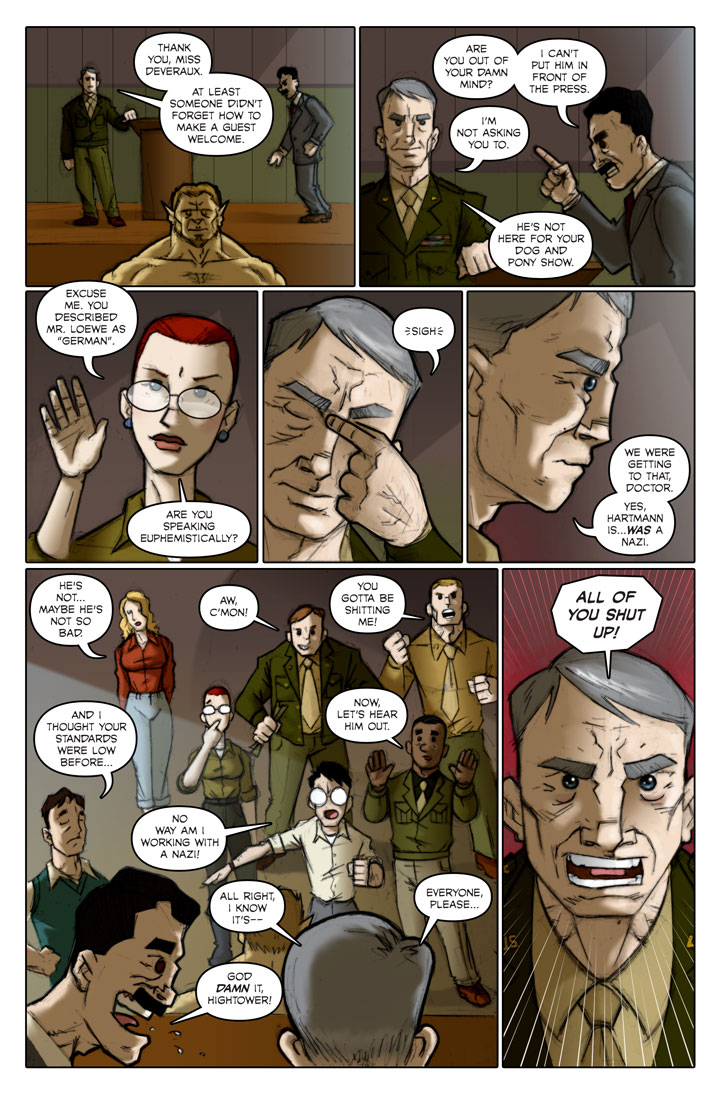 The Specialists webcomic, page 121