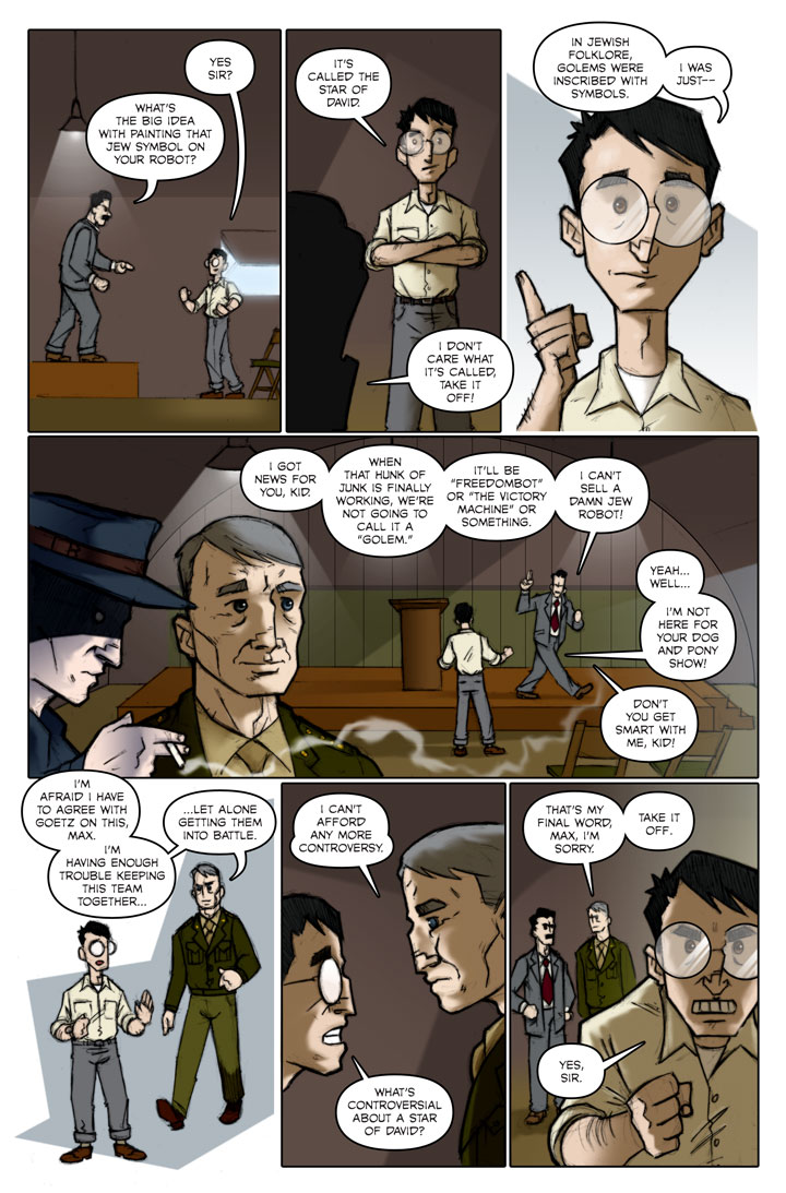 The Specialists webcomic, page 125