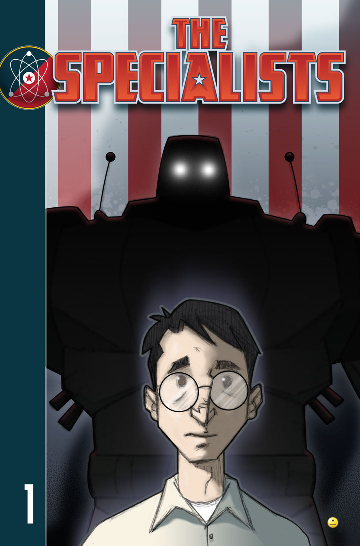 The Specialists webcomic, Chapter 1 Cover