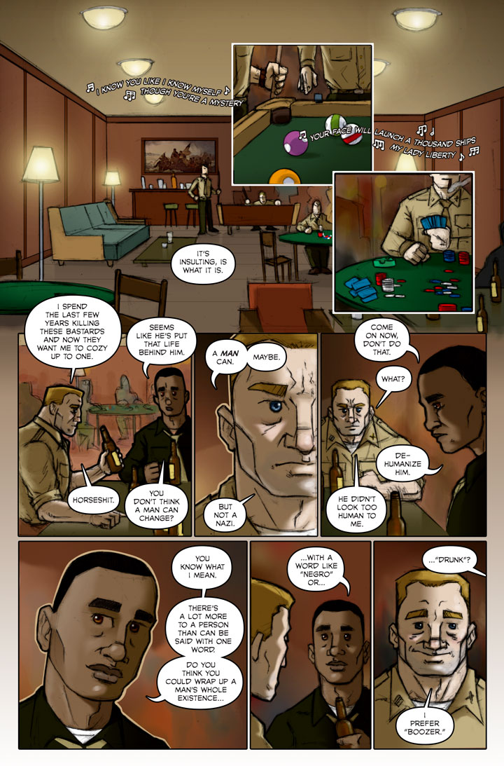 The Specialists webcomic, page 126