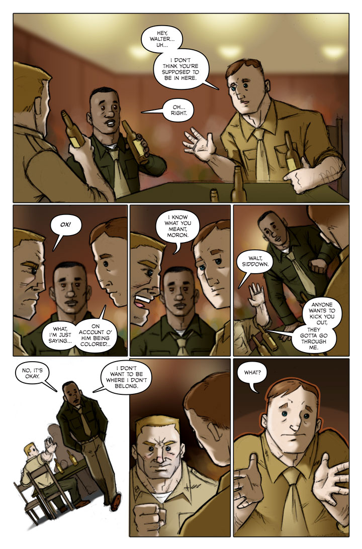 The Specialists webcomic, page 128