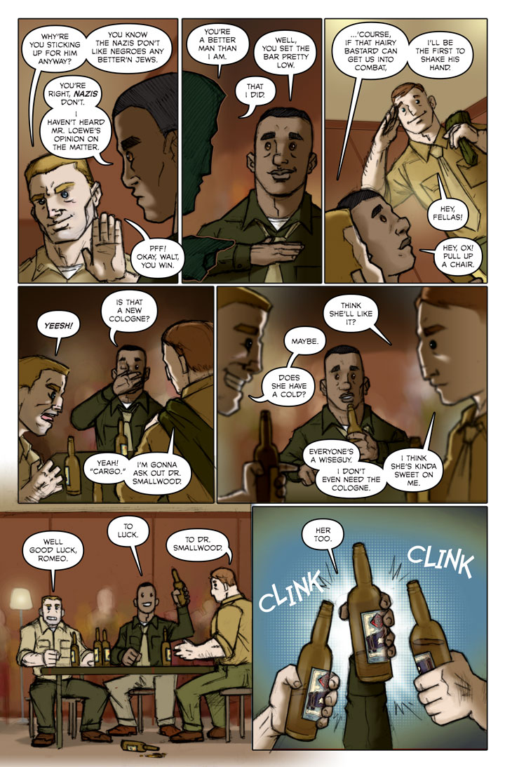 The Specialists webcomic, page 127