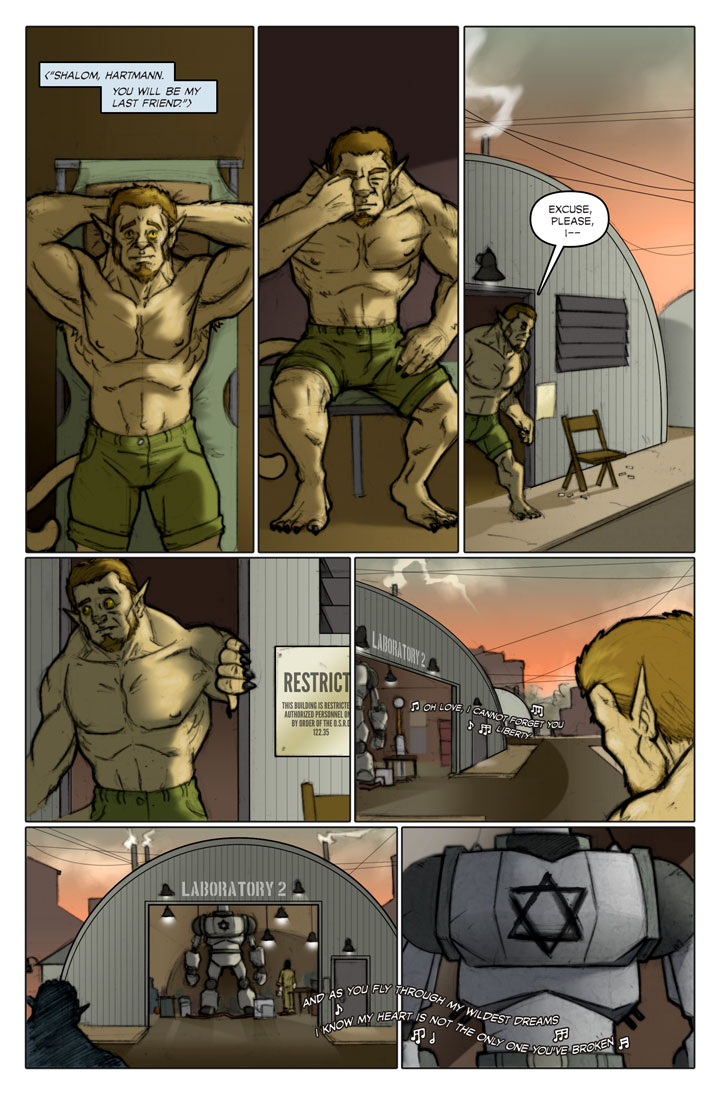 The Specialists webcomic, page 131