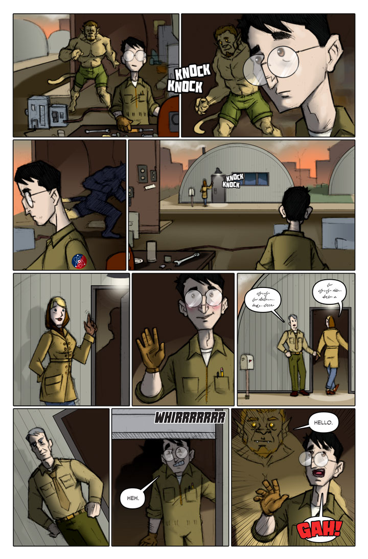 The Specialists webcomic, page 132