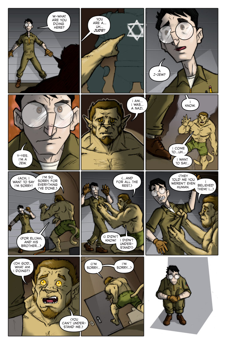 The Specialists webcomic, page 133