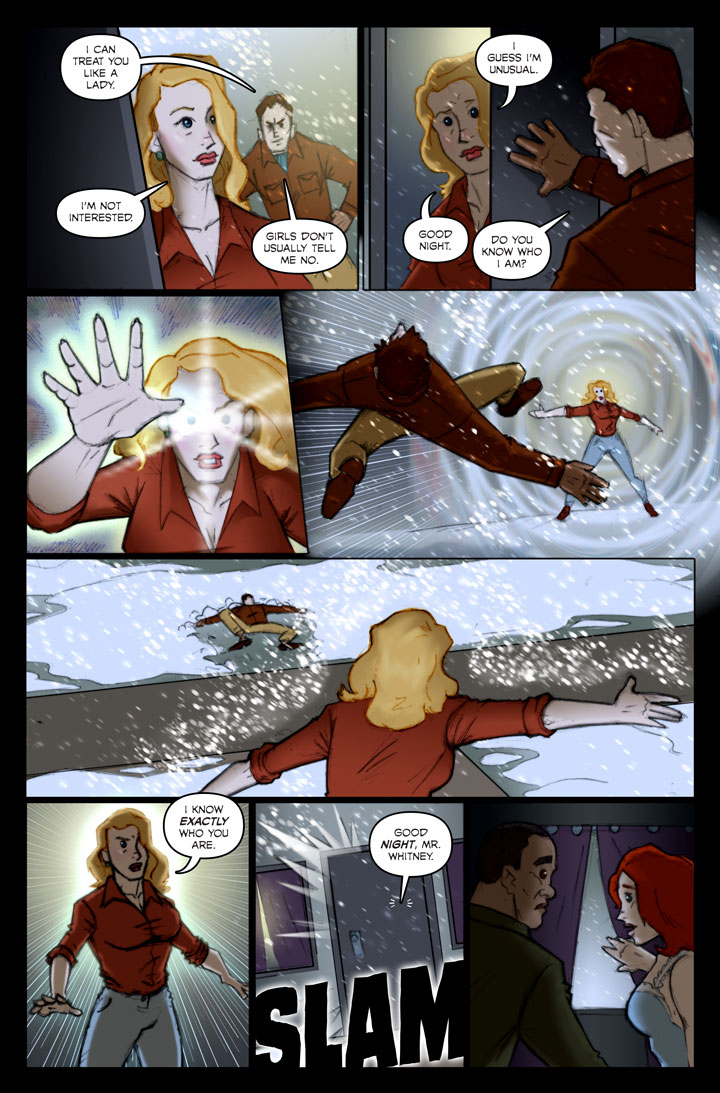 Page 138 of The Specialists, a WWII superhero webcomic