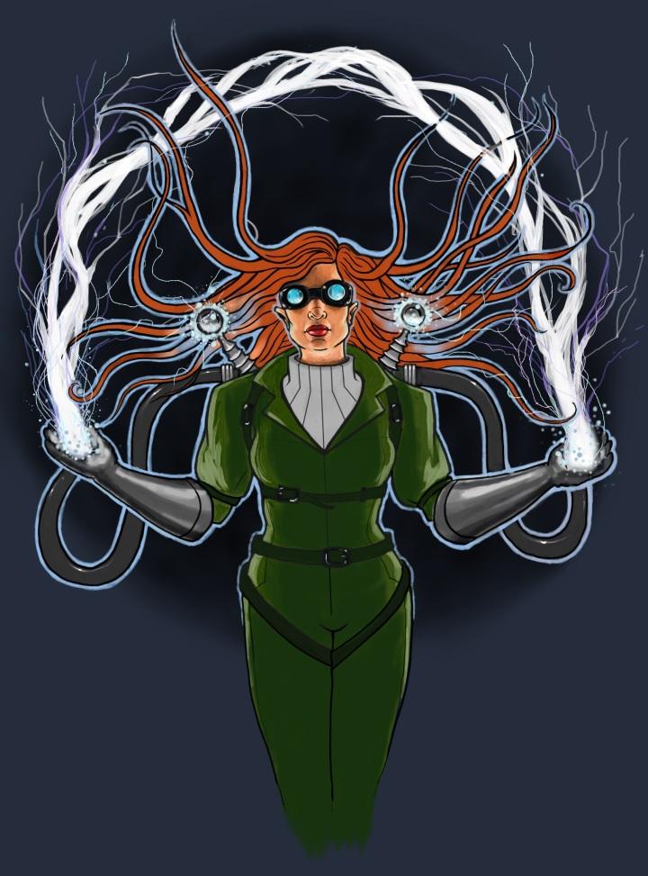 Lightning Lass by Cori Redford